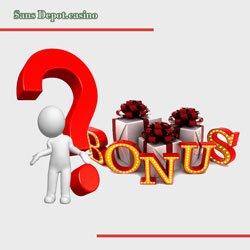 Bonus sans dépôt de casino en ligne